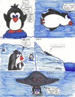 The day and life of a penguin. by slipknotcrow
