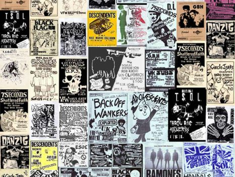 punk flyers by commanderzab