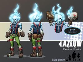 RandomVeus Character Contest - Lazlow by WillJonesArt