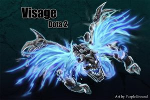 Visage Dota 2 by Purpleground02