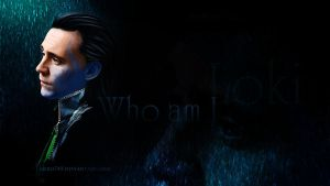 Who am I Wallpaper by Nero749