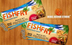 Fish Fry Flyer - 1000do