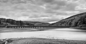 Ladybower in mono by CharmingPhotography