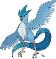 Articuno by Xous54