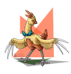 Combusken: Year of the Fire Rooster by Chari-Artist