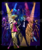 Night at da Club_Raevir by danee313
