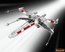 X-Wing Starfighter by Corven55