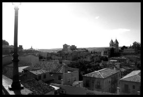 Toledo Cityscape by rickda7th