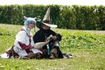Blackmage and Whitemage FFXIV Cosplay 2 by Evil-Siren