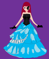 me dressed up for a costume ball lol by heartsgirl
