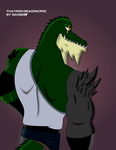 Thayron Dragoncroc Actual (No Skin barbaric layer) by Danss19