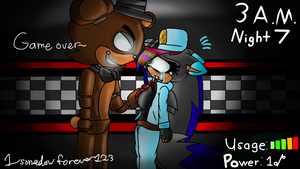 Trouble beating 4/20 Mode on FNAF 1 by Mobian-Gamer