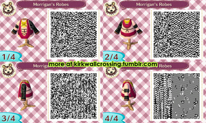 ACNL Morrigan's Robes (Shirt) by meglish