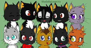 My ocs as cats by Laila-The-Wolf-712
