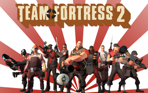 Team Fortress 2-Main Wallpaper by zhegoggles