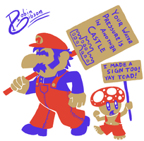 Mario is the 99% by Starflier