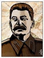 Stalin by zeushadesposeidon