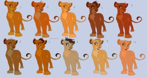Lion King Adopts -POINTS- by Kitchiki