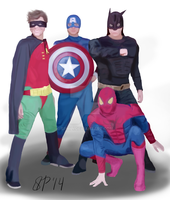 5 Seconds of Superheroes by sphili