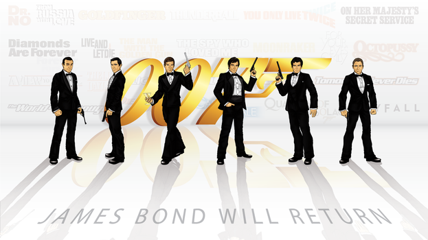 James Bond Will Return by CosmicThunder