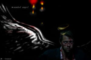 Wounded Angel by JH-creator