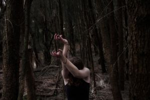 blood on her hands. by ShutterBug97