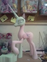 Princess Celestia WIP by Groovebird