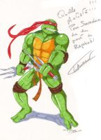 Raphael art signed by Thierry Bourdon by Sandragon