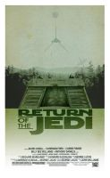 Return of the Jedi - Minimalist Poster by 3ftDeep