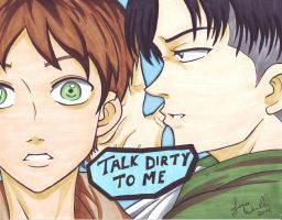 AOT Talk Dirty by AnimeJanice