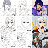 [Switch Around] D.Gray-man by NotLucy