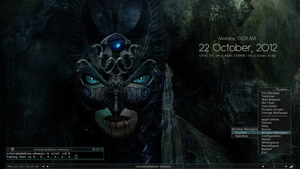 Halloween '12 Desktop by vrkalak