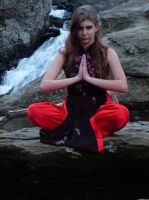Asian Outfit Meditation II by music-lover-stock