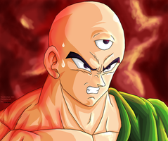 Tenshinhan -NO- Remastered by JJJawor