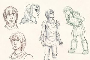 HTTYD Sequel Designs by AvannaK