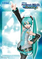 Project Diva Arcade Poster by PinkAura8
