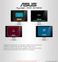 Asus - MyLogo Screens by LordReserei