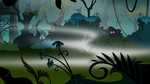 BACKGROUNDS - Everfree Forest - Night 00 by jamescorck