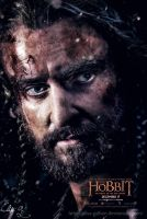 Colorful Thorin - The Hobbit 3 Poster by Elisa-Gallion