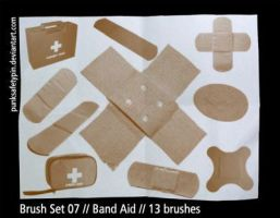Brush Set 07 - Band Aid by punksafetypin