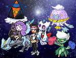 My team by AwesomeSerperior