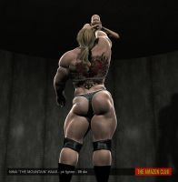 Nina Haas - pit fighter - 8ft 4in - 02 by theamazonclub