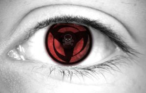 Sharingan of death by dominicanjoker