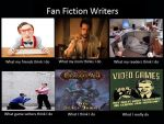 What fan fic writers really do by MLHawke