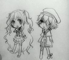 Oliver and seeu chibi by lellibel