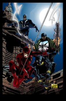 Marvel Knights - mycolors by hany-khattab