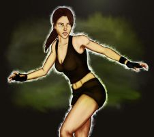 Lara Croft TR Underworld by RachelO394