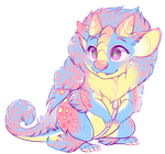 Pastel dragon by Kiwibon