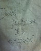 Just follow the crowd by AmineShow