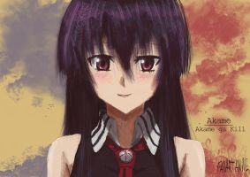 FanArt Akame from Akame ga Kill by PaintforfunYoutube